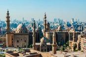 Foto panoramica de Il Cairo
