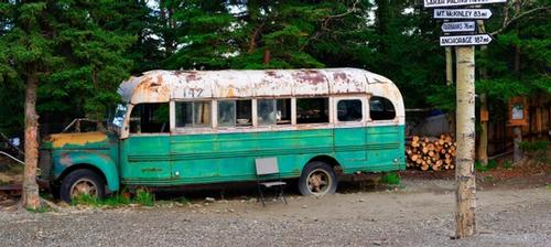 magic bus di into the wild in alaska