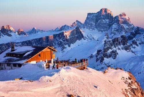 Settimana bianca a Cortina cover