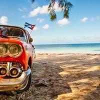 macchina d epoca spiaggia cuba