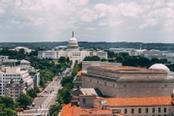 Vista panoramica sulla città di Washington DC