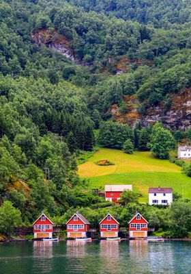 villaggio flam in norvegia