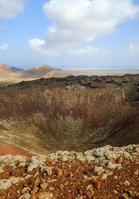trekking al vulcano di lajares