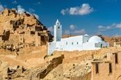citta scavata nella roccia in tunisia