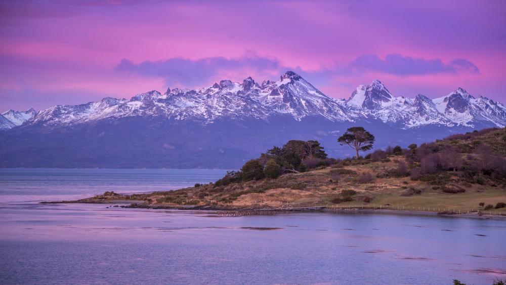 aurora australe in argentina