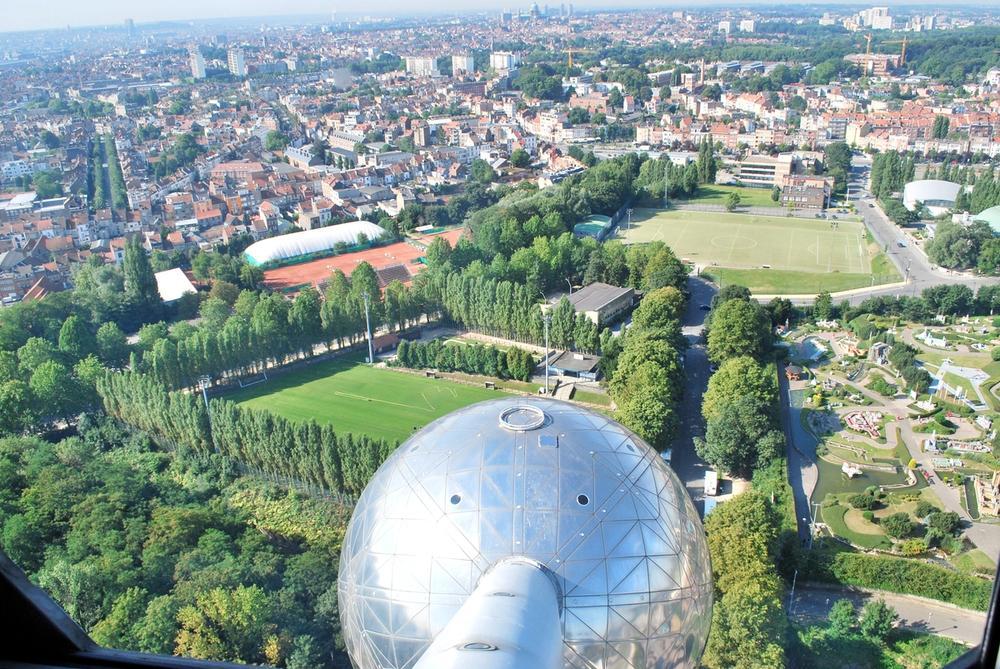 vista panoramica atomium