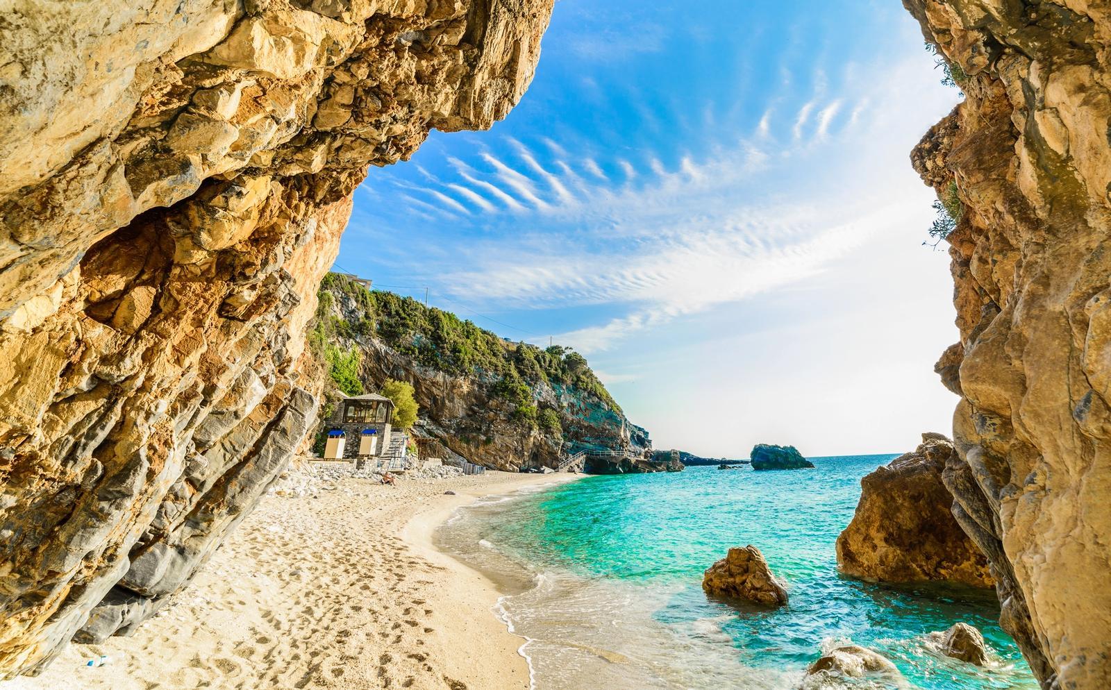 spiaggia di corfu
