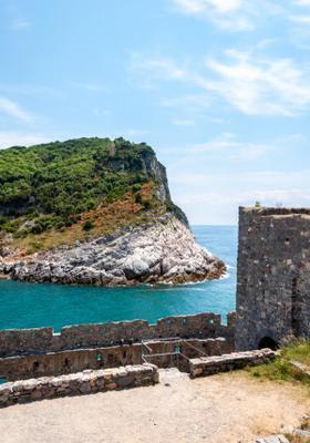 castello isola di palmaria