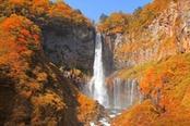cascate di kegon in autunno