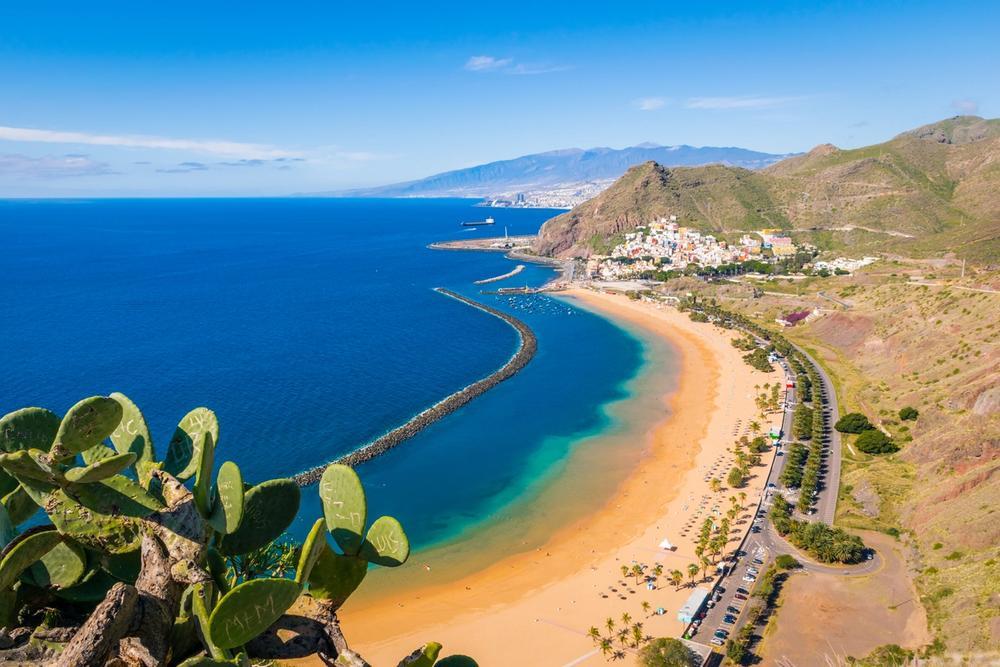 spiaggia di las teresitas tenerife