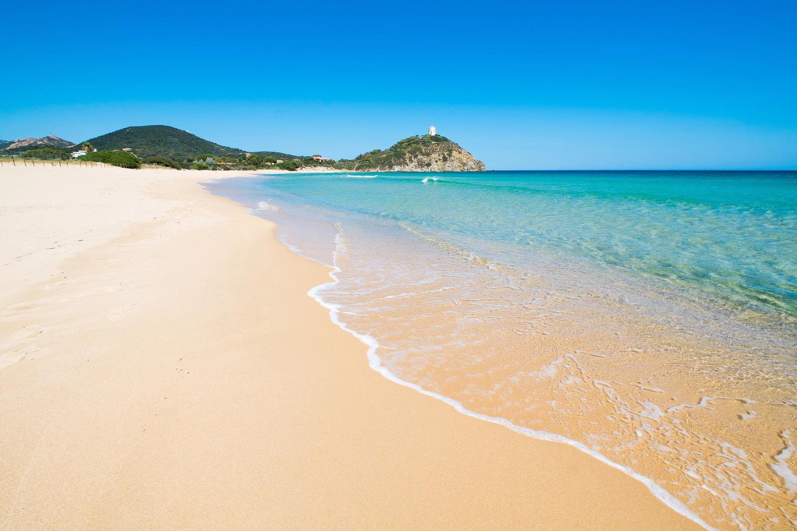 la spiaggia piu bella della sardegna