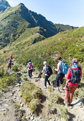 trekking in trentino alto adige
