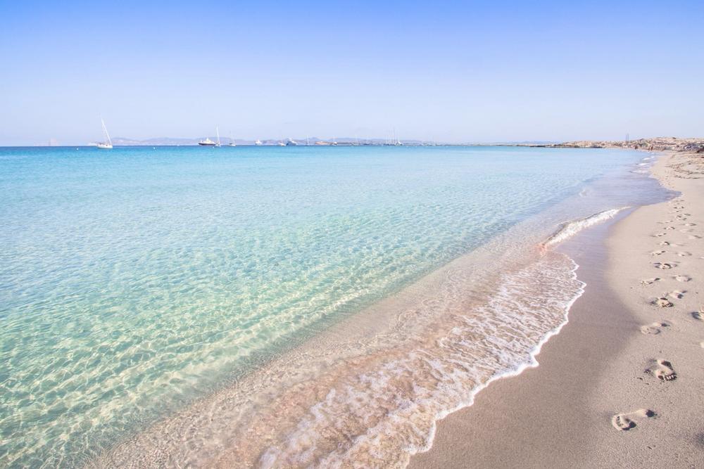 spiaggia ses illetes formentera