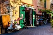 Stradina del centro storico di Ischia
