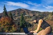smart working in montagna