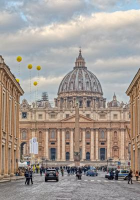 piazza della basilica di san pietro