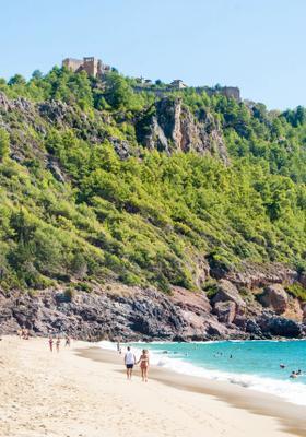 spiaggia di cleopatra in turchia