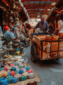 mercato marocchino di fès