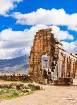 antiche rovine di volubis