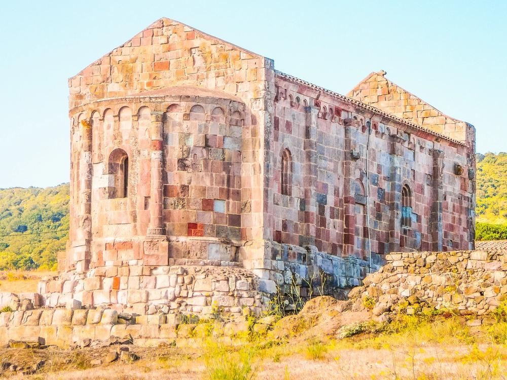 sito archeologico di fordongianus in sardegna