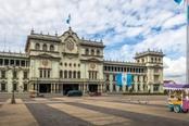 Palazzo storico nella città di La Antigua
