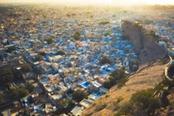 Vista panoramica su Jodhpur