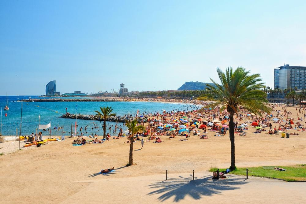 spiaggia barceloneta