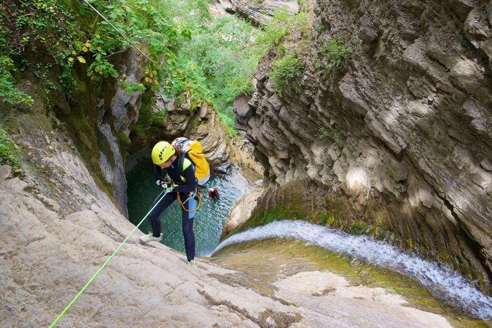 canyoning e torrentismo sul lago di como