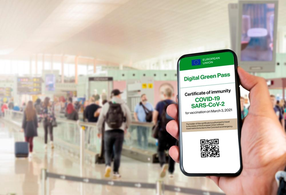 digital green pass formato