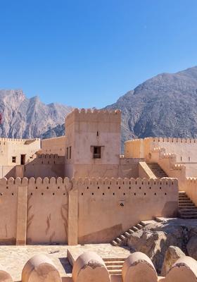 Antiche rovine nel deserto