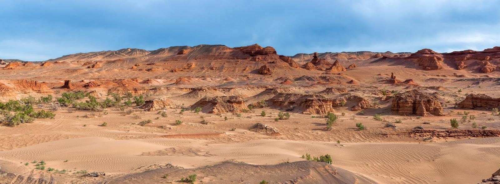 Deserto della Mongolia