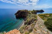Percorso in pietra Isola di Stromboli