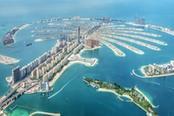 Vista panoramica su Dubai