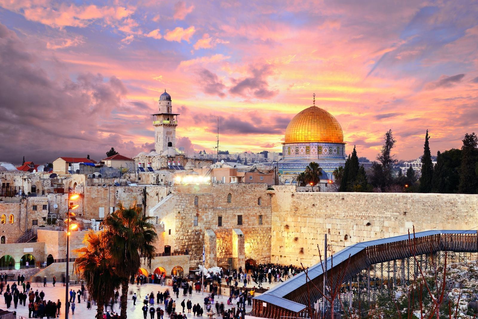 Muro del Pianto a Gerusalemme