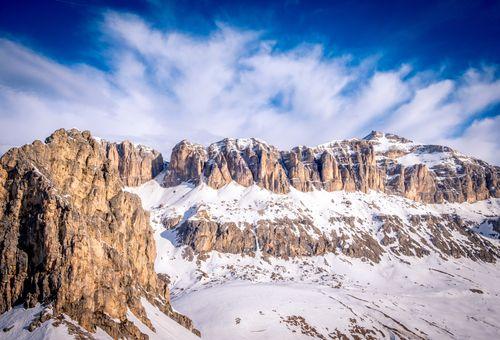 Settimana bianca nel cuore delle Dolomiti cover
