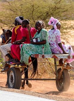 donne carovana in mauritania