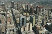 Palazzi nella città di Johannesburg