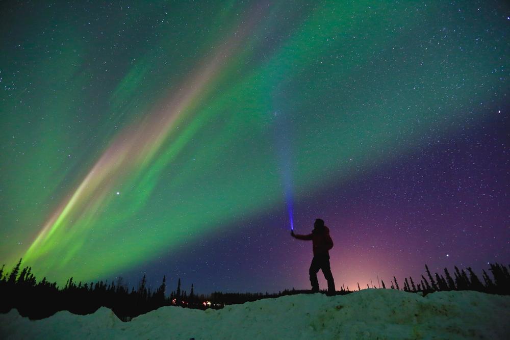 aurora boreale firebanks alaska