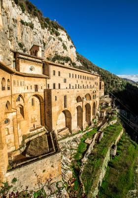 monastero di san benedetto a subiaco