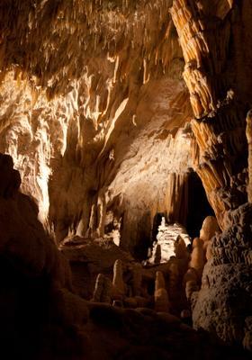 grotte di postumia interno