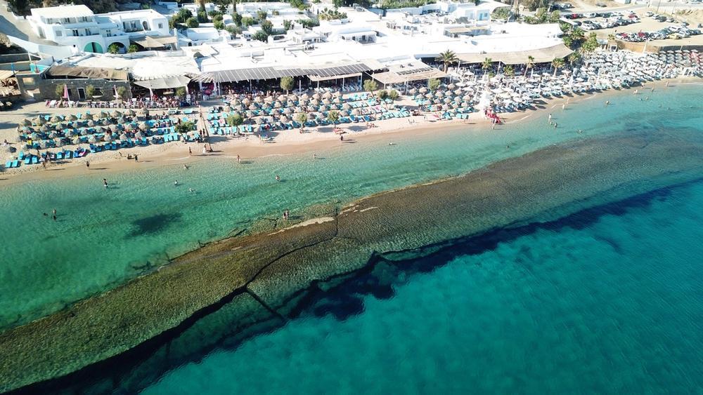spiaggia paradise beach a mykonos