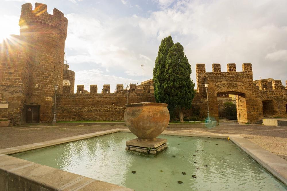 borgo medievale di cerveteri nel lazio