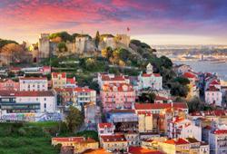 Lisbona al Tramonto