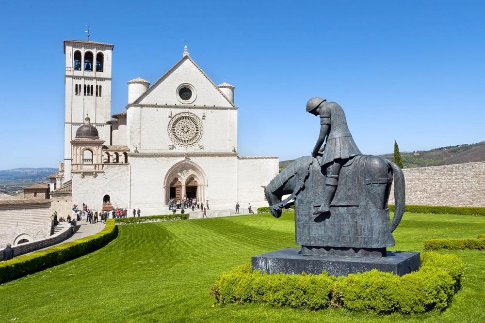 basilica di san francesco assisi in umbria