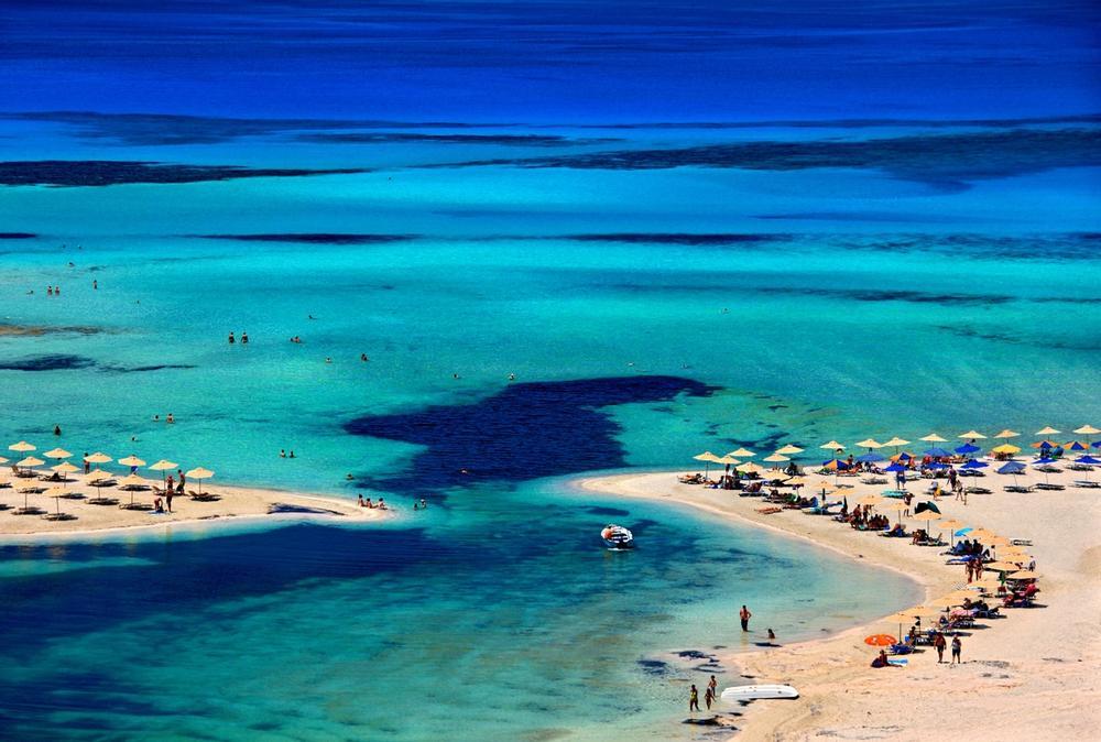 spiaggia di balos a creta