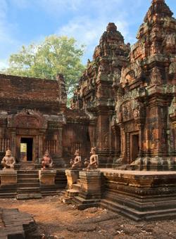 tempio nella roccia banteay srei