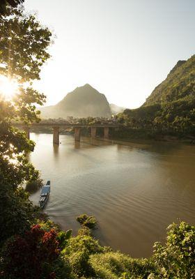 nong khiaw fiume