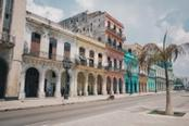 Palazzi colorati di La Habana