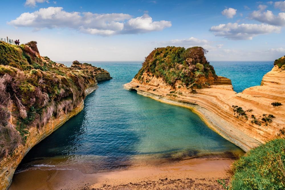 spiaggia di canal d amour a corfu