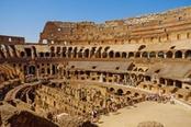 Interni del Colosseo